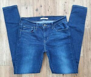 Ladies Levis 710 Super Skinny Jeans size 12 Waist 30 leg 31 Levi jeans