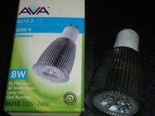 2 - 8W GU10 High Power LED Spot Light Bulb Lamp Day White Dimmable 83mm long AVA