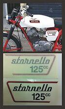 Moto Guzzi Stornello 125cc. 1972 - adesivi/adhesives/stickers/decal