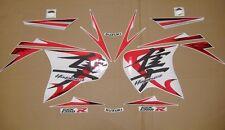 GSX 1300R Hayabusa 2008 custom chrome red full decals stickers graphics set kit