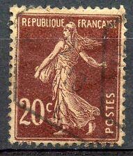 TIMBRE FRANCE OBLITIERE TYPE SEMEUSE N° 139 / Photo non contractuelle