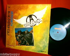 AEROSMITH + BLUE OYSTER CULT rare PROMO only split LP ITALY MINT- >>