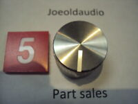 Kenwood KR 9600 Speaker or Selector Knob Has Small Scratches. Parting KR 9600