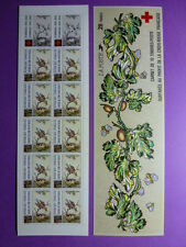 LOT 11013 TIMBRES STAMP CARNET CROIX ROUGE FRANCE ANNEE 1989