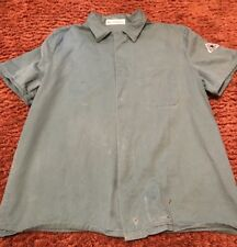 Bulwark KEW2VG Excel-FR Green FR Welding Work Coat LARGE Short Sleeve