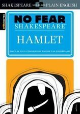 HAMLET (No Fear Shakespeare) FREE SHIPPING paperback book SparkNotes ham let