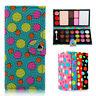 Makeup Cosmetic Wallet Case Set Eyeshadow Blusher Powder Palette & Brush Mirror