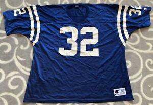 Vintage Edgerrin James Indianapolis Colts Champion NFL Football Jersey Sz. 52