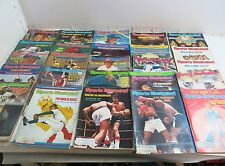 LOT OF 25 VINTAGE SPORTS ILLUSTRATED MAGAZINES ALL FROM 1977