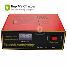 Intelligent Full Automatic 6V/12V 80Ah Negetive Pulse Dry&Wet Battery Charger