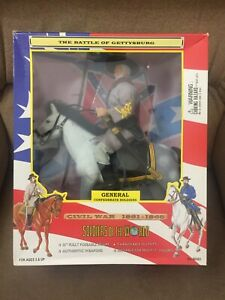 Soldiers Of The World Civil War 1861-1865 GENERAL Confederate Soldiers Brand New