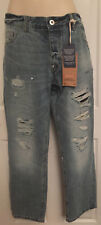NEXT MENS JEANS STRAIGHT RIPPED STYLE SIZE 36S & 38R BRAND NEW RRP £40