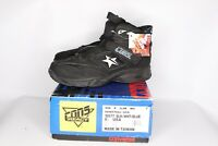 Vintage 90s New Converse Size 8.5 Kevin Johnson Run N Slam Mid Cons React Shoes