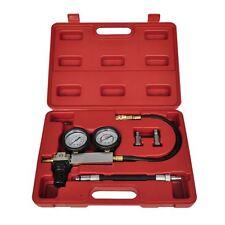 Cylinder Leak-Down Tester Leakage Detector Set Engine Compression Gauges w/ Case