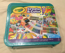 Crayola Epic Create & Color Art Case 75 Pieces Boys and Girls Ages 5+ Child New