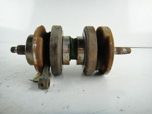 Honda CB 360 T CB360 Pro369 Crankshaft With 2 Connecting Rods Crank Shaft
