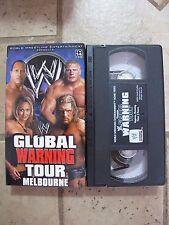WWE Global Warning Tour Melbourne Australia VHS 2002 WWF WCW NWO NON RENTAL