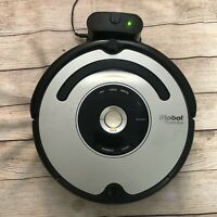 iROBOT Roomba 557 Black For Parts Not Working With Charging Dock