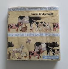 2x Emma Bridgewater Joy Allover Christmas Lunch Napkins