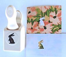 NIP Martha Stewart Bunny Hop Edge Punch Easter Spring Rabbit