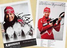 Ole Einar Björndalen-Win - 2 AK images (3) - 2 print copy + Ski AK