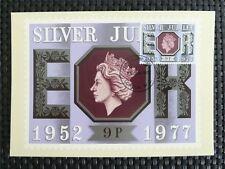 GB UK MK 1977 QUEEN ELIZABETH MAXIMUMKARTE CARTE MAXIMUM CARD MC CM c5052