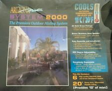 New Arizona Mist System 2000 Premiere Outdoor Misting System All Brass
