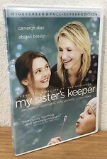 MY SISTER'S KEEPER (DVD, 2009) WIDESCREEN & FULL-SCREEN EDITION ~ REGION 1 ~ EUC