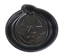 Halloween Baking Pan Jack On Lantern Pumpkin Cake Pan Black Metal NEW
