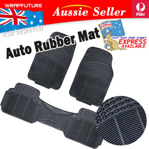 All Weather Floor Mat Rubber Compliment For Kia Picanto Rio Front Rear Carpeting