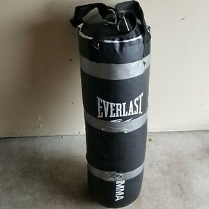 EVERLAST 4O Lbs Punching Bag Boxing MMA Crossfit Workout Exercises Self Defense