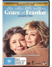 Grace And Frankie : Season 2 (DVD, 3-Disc Set) NEW