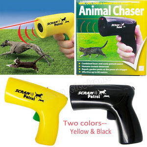 Scram Patrol Ultrasonic Dog Repeller Chaser Stop Barking Attack Animal Protecton