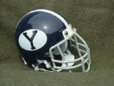 BYU COUGARS 1966-68 THROWBACK MINI FOOTBALL HELMET