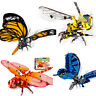 Large Butterfly Bumblebee Dragonfly Building Bricks Construction Blocks Toy Set