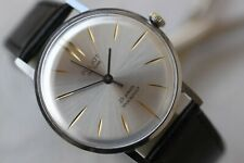VINTAGE MEN'S BIG RUSSIAN MECHANICAL POLJOT DE LUXE WATCH 23 JEWELS!