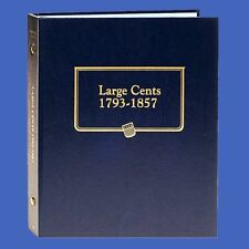 Whitman Album Large Cent 1793 - 1857  (printed dates) #9110
