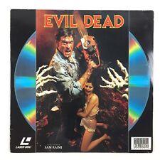 LaserDisc Evil Dead