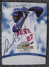 DAVID ORTIZ RC AUTO #78/100 1997 DONRUSS SIGNATURE CENTURY BOSTON RED SOX RARE