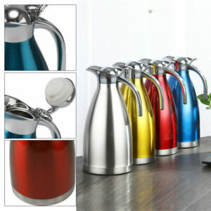 Multi-color double-layer vacuum stainless steel long-term insulation thermal pot
