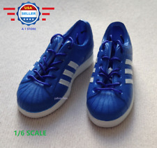 >>FAST SHIPPING<<1/6 scale blue color sneakers for 12'' MALE figure DOLL