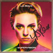 LA ROUX * SUPERVISION * SIGNED GATEFOLD 8 TRK CD * BN&M! * ELLY JACKSON