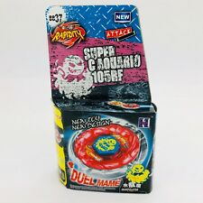 Flame Aquario Beyblade BB37 Metal Fusion Fight Masters 4D USA Seller