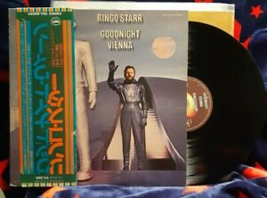 "Ringo Starr / Beatles - ""Goodnight Vienna"" - JAPANESE pressing with OBI"