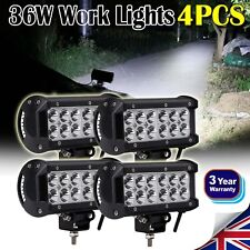 4× 36W Car 12V CREE LED Work Flood Lights Lamp for 4x4 Van ATV Offroad SUV Truck