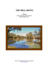 THE BILLABONG - CROSS STITCH CHART