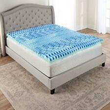 Body Contouring 7 Zone Cooling Gel Memory Foam Bed Topper KING Hypoallergenic
