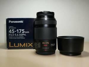 Panasonic LUMIX 45-175mm f/4.0-5.6  PZ O.I.S. M43 Lens