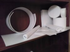 PTFE ROD 130MM X 90 MM WHITE TEFLON PLATE ENGINEERING PLASTIC MATERIAL