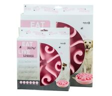 Eat Slow Feeder Rosa Small 21cm für kleine und mittelgroße Hunde
